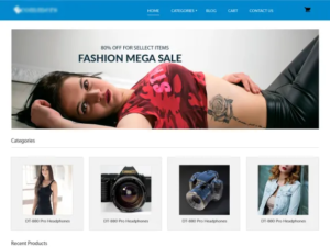 eCommerce website examples